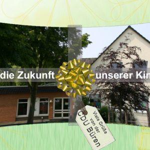 Ein schönes Geschenk, das die CDU den Kindern in Ahden gemacht hat.